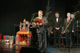 Andrzej Bendig-Wielowiejski z nagrodą w kategorii Produkt