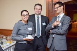 Joanna Zawiejska-Rataj, Andrzej Oryl, Piotr Diakowski (Deloitte)  /fot.: mab /