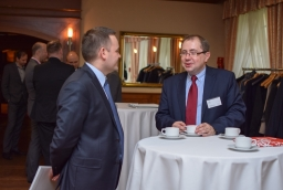 Krzysztof Wojtowicz (Deloitte), Jacek Wójcikowski (COI WZP)  /fot.: mab /