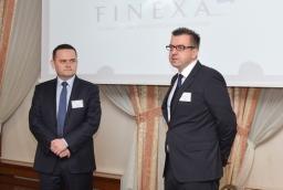 Krzysztof Wojtowicz (Deloitte), Sebastian Goschorski (Finexa)  /fot.: mab /