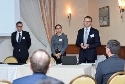 Sebastian Goschorski (Finexa), Joanna Zawiejska-Rataj i Mariusz Śrona (Deloitte)  /fot.: mab /