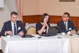 Sebastian Goschorski (Finexa), Joanna Cierlica-Nowaczyk (Re-Think&Move), Andrzej Kulpa (KS Service)  /fot.: mab /