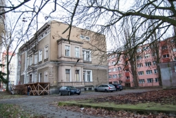Dawna willa ludowców w Szczecinie - w tym miejscu ma powstać nowy budynek hotelowy  /fot.: ak /