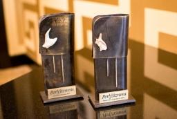 Statuetki Perły Biznesu 2015  /fot.: mab /