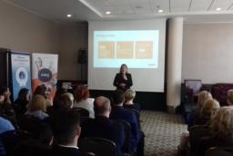 Anna Mindykowska opowiadała, jak usprawniać procesy biznesowe dzięki informacjom od pracowników  /fot.: ata /
