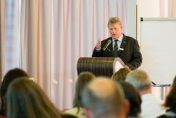 Torsten Haasch, prezes IHK Neubrandenburg  /fot.: mab /