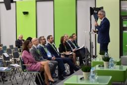Dr hab. inż. Jerzy Pejaś, dziekan Wydziału Informatyki ZUT mówił m.in. o tym, że Szczecin potrzebuje nowoczesnego laboratorium zaawansowanych technologii, z którego korzystać mogliby naukowcy i przedsiębiorcy   /fot.: mab /
