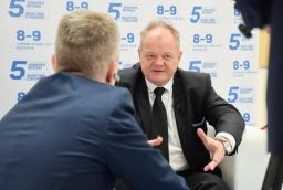 W kongresie uczestniczy m. in. Paweł Brzezicki, zarządca komisaryczny PŻM  /fot.: mab /