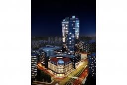 Hanza Tower. Wizualizacja  /fot.: Mat. J.W. Construction  /