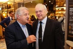 Stanisław Flejterski (Uniwersytet Szczeciński) i Kazimierz Mojsiuk (Grupa Mojsiuk)  /fot.: ABES /