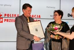 Jan Stasiak (Fast Terminals), prof. Aneta Zelek  /fot.: Świat Biznesu /