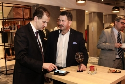 Wojciech Ciuruś (Ciroko), Piotr Tomaszewicz (Tomaszewicz Development)  /fot.: Świat Biznesu /
