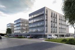 Trzy budynki kompleksu Szczecin Business Plaza będą zlokalizowane tuż przy ul. Południowej. Największy budynek znajdzie się w głębi działki  /fot.: mat. inwestora /