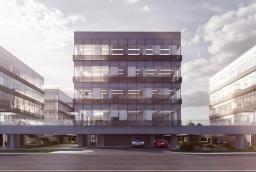 W kompleksie czterech budynków Szczecin Business Plaza będzie 11,1 tys. m kw. powierzchni najmu najwyższej klasy A  /fot.: mat. inwestora /
