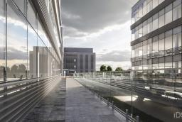 Pod kompleksem Szczecin Business Plaza przewidziany jest parking na 300 miejsc  /fot.: mat. inwestora /