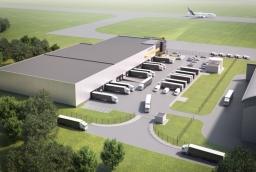 Waimea Cargo Terminal Szczecin Airport  /fot.: wizualizacja: Waimea Cargo Terminal Szczecin Airport /