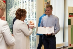 Maciej Druciarek i jego biznesplan Cafe Cookie zostały najwyżej ocenione w kategorii do 18 r.ż.  /fot.: ak /