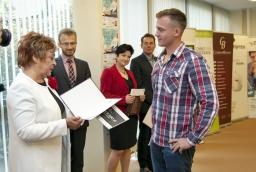 Marcin Majchrzak, autor biznesplanu Fit Friend zajął w tegorocznej edycji Przystanek Sukces trzecie miejsce  /fot.: ak /