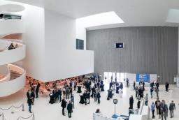 Główne debaty i spotkania podczas 5. Międzynarodowego Kongresu Morskiego odbywają się w filharmonii   /fot.: mab /