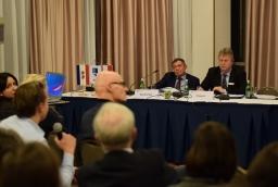 Torsten Haasch, prezes IHK Neubrandenburg i Bartłomiej Sochański, konsul honorowy RFN w Szczecinie  /fot.: mab /