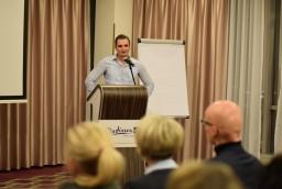 Tom Auhl mówił o Ostseeland Immobilien ze Stralsundu  /fot.: mab /