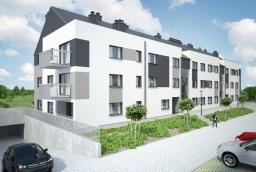 Na Osiedle Sympatyczne w Warzymicach złożą się dwa budynki po 23 mieszkania. Inwestycję realizuje spółka Master House  /fot.: Master House /