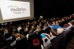 Gala rozdania statuetek Diamentowych Matrixów odbyła się podczas konferencji Innowacje – Inspiracje – Interakcje, 5 listopada  /fot.: Robert Stachnik /