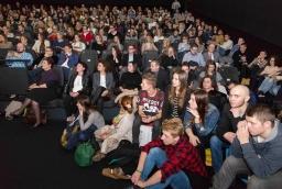 Publiczność konferencji Innowacje – Inspiracje – Interakcje wypelniła po brzegi salę w szczecińskim Multikinie  /fot.: Robert Stachnik /