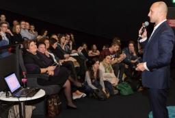 Wojciech Szapiel podczas konferencji Innowacje – Inspiracje – Interakcje  /fot.: Robert Stachnik /