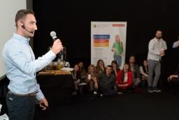 Łukasz Jakóbiak podczas konferencji Innowacje – Inspiracje – Interakcje  /fot.: Robert Stachnik /