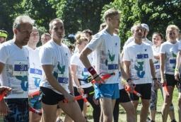 NCDC Business Race 2016. Pierwsi członkowie sztafet na starcie  /fot.: ak /