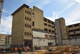 Przebudowywany dawny Posejdon stanie się częścią nowoczesnego kompleksu  /fot.: mab /