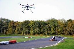 Quadrocopter w locie  /fot.: Drone Design /