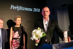 Gala wręczenia nagród Perły Biznesu 2018. Na zdjęciu Paweł Fornalski, prezes IAI SA  /fot.: SW /