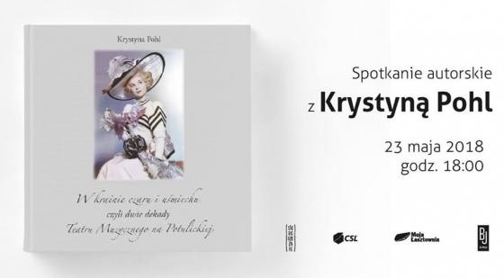 Spotkanie autorskie z Krystyną Pohl i wystawa fotografii Przemysława Budziaka