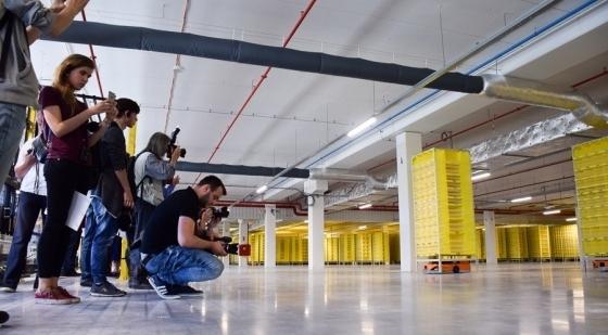 Amazon shows off Kołbaskowo logistic centre [LOTS OF PHOTOS]