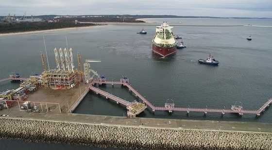 The LNG terminal in Świnoujście to be extended