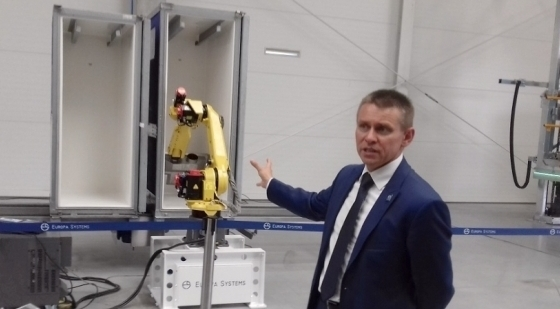Robots designed in Żabowo