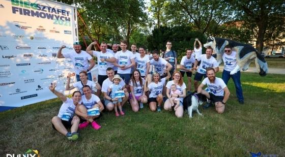 """NCDC Business Race – Bieg Sztafet firmowych """"Biegamy Osobno Pomagamy Razem"""" za nami!"""