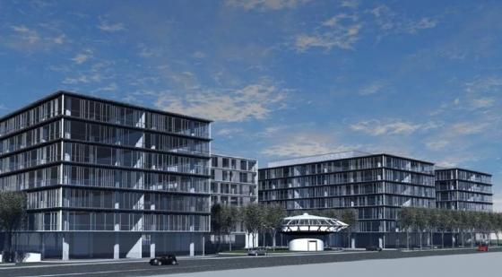 Szczecin Odra Park: pierwszy etap za dwa i pół roku