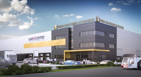 Terminal cargo na lotnisku w Goleniowie z pozwoleniem na budowę