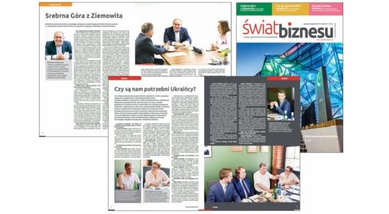 Świat Biznesu: wywiad z szefem Kongsberg Maritime Poland oraz dyskusja o pracownikach z Ukrainy