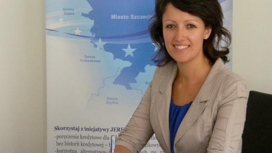 Agnieszka Marszałek, specjalista ds. poręczeń kredytowych /fot.: archiwum /