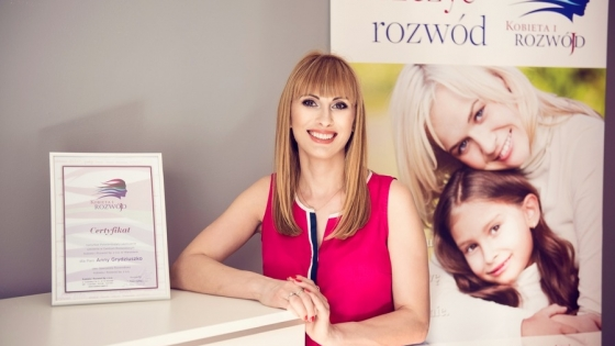Anna Grydziuszko – główna koordynatorka w Centrum Rozwodowym Kobieta i Rozwód w Szczecinie