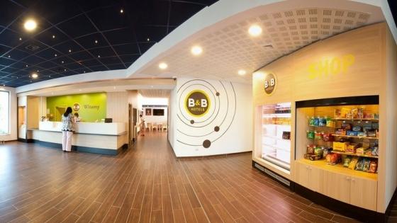 Lobby hotelu B&B w Toruniu /fot.: Mat. www.hotelbb.pl /