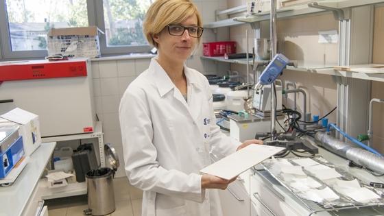 Mgr Alicja Mężykowska odpowiedzialna jest za prace badawcze w ramach projektu CBIMO dla Kronospan /fot.: ak /