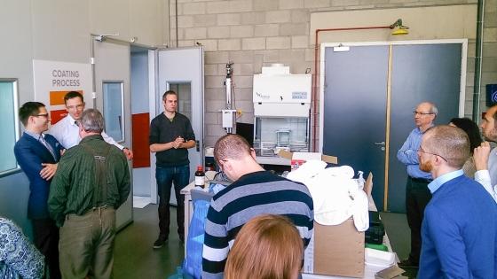 Jedno ze spotkań z przedsiębiorcami w ramach inicjatywy CORNET /fot.: mat. Klastra Zielona Chemia /