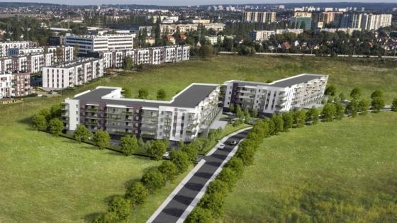 Wizualizacja osiedla Cukrownia Apartamenty /fot.: mat. Budnex /