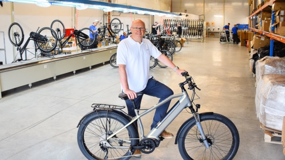 Grzegorz Bargielski: W Geobike MFC i Geovelo łączymy produkcję rowerów elektrycznych z branżą roweru miejskiego.