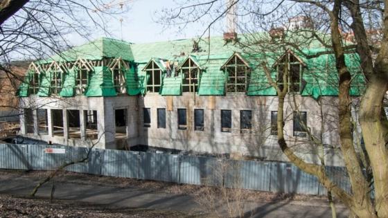 Do końca marca zostanie zamknięty stan surowy przyszłego hotelu Grand Park Rusałka /fot.: ak /